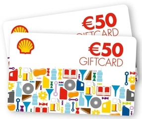 Shell Giftcards nrg